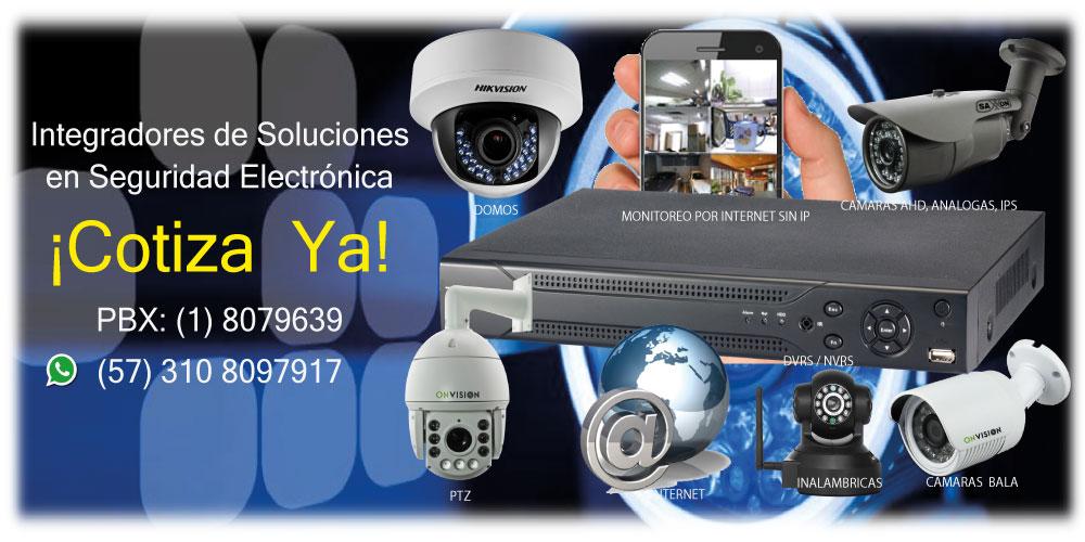 Cámaras de Seguridad Bogotá